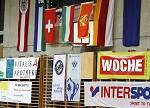 Handball, Europacup, SG witasek Kaernten vs. WHC Biseri Pljevlja, im Bild ein Feature mit Fahnen. pressefotos, sportfoto, sportfotos, kärnten, kaernten, pressefoto, oskar, höher, wolfgang, jannach, sport, wirtschaft, kultur, politik, innenpolitik, außenpolitik, lokal, chronik, fotos, fotografie, fotographie, canon, eos, 1d, mark IV, mark 4, fotopool, powerpixx, höherfoto, hoeherfoto, klagenfurt, villach, wolfsberg, spittal, feldkirchen, völkermarkt, voelkermarkt, lienz, osttirol, hermagor, archiv, fotoarchiv, photo, photoarchiv, kleine, zeitung, kleinzeitung, ktz, kärntner tages zeitung, kärntner woche, kärntner, woche, kronen zeitung, krone, kronen, zeitung, sportfotographie, sportfotografie, kurier, kärntner monat, monatsmagazin, tageszeitung, wochenzeitung, gratiszeitung, fußball, fussball, eishockey, icehockey, tennis, basketball, handball, volleyball, beachvolleyball, schi, ski, ski alpin, ski nordisch, schi nordisch, nordisch, langlaufen, schispringen, skispringen, biathlon
