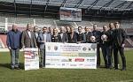 (c) 2016 - Sport, Fußball, Tournament delle Nazioni, Pressekonferenz. - Bild zeigt: Politiker, Sponsoren und Organisatoren des Turniers.