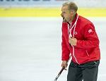 (c) 2018 - Eishockey, KAC, Trainingsauftakt. - Bild zeigt: Headcoach Petri Matikainen (KAC).