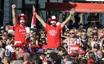 (c) 2016 - Sport, Fußball, Europameisterschaft, Fanzone.  - Bild zeigt: Fans