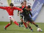 (c) 2016 - Sport, Fußball, Tournament delle Nazioni. - Bild zeigt: Flavius Daniliuc (AUT) und Orlando Linares (MEX).