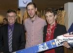 (c) 2016 - Sport, Benefizgala, Wir für Lukas Müller. - Bild zeigt: Gottfried Müller, Martin Koch und Rosi Koch (Mutter von Lukas Müller).